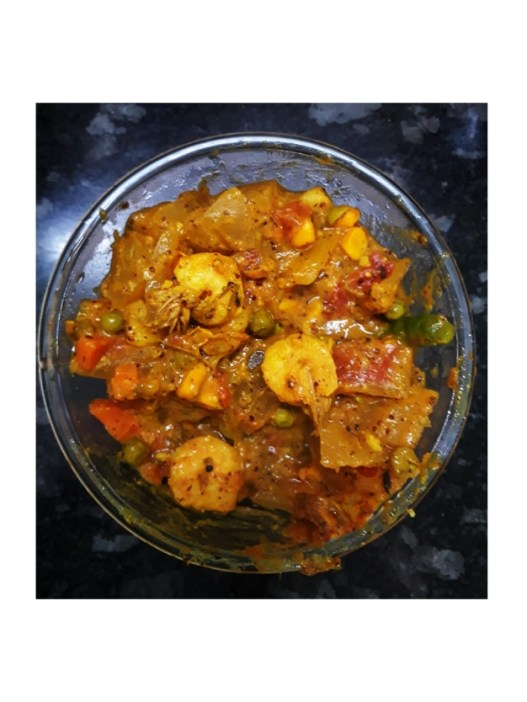 Utilize watermelon rind in 3 easy recipes - watermelon rind curry with prawn