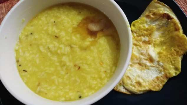 How to take Indian foods to relieve constipation? Khichri