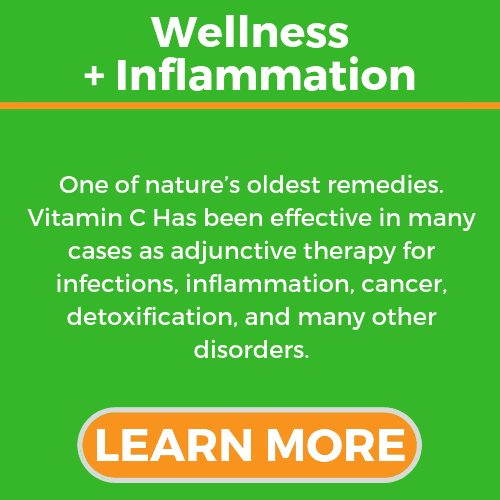 wellness plus Inflammation Reduction. Vitamin C