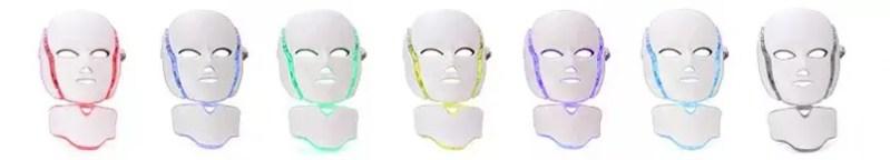 maschera led noleggio e vendita Wellness Project Group