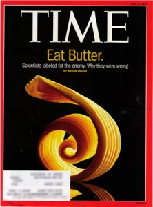 Time Cover Eat Butter