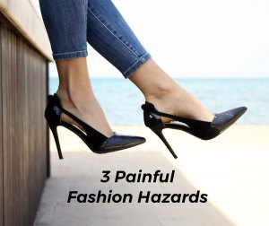 Womens feet in heels