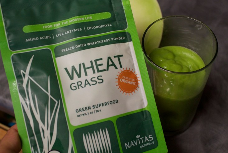 Green and Gold Smoothie7