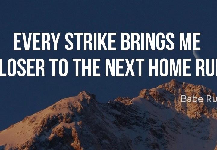 Every strike
