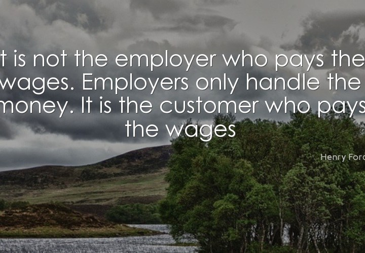 It is not the employer