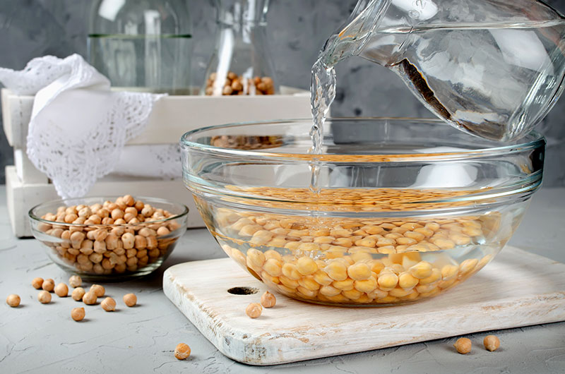 Using Water for Food Preparation