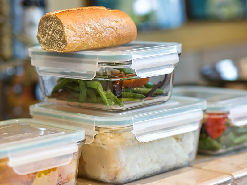 Glass Food Storage Containers for Healthy Leftovers
