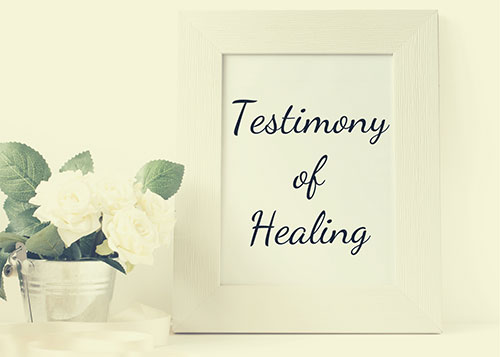 Well of Life Center Testimony of Healing