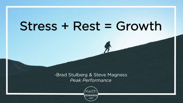 Stress-Rest-Growth keith edwards
