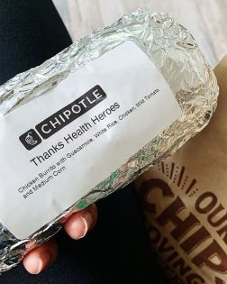 Health Hero Burrito