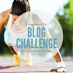 Blog Challenge Badge 2