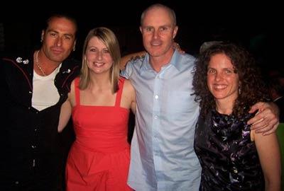 Marc Macbride (illustrator), me, Matt Ottley (writer/illustrator) and Sally Rippin (writer/illustrator)