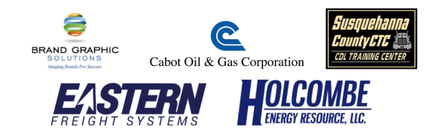Logos on trailer donations