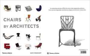 A collection of chair designs by famous modern architects