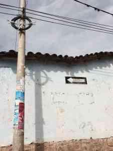 Strange things in Urbamba, Peru