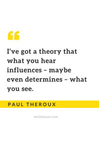 What you hear influences what you see
