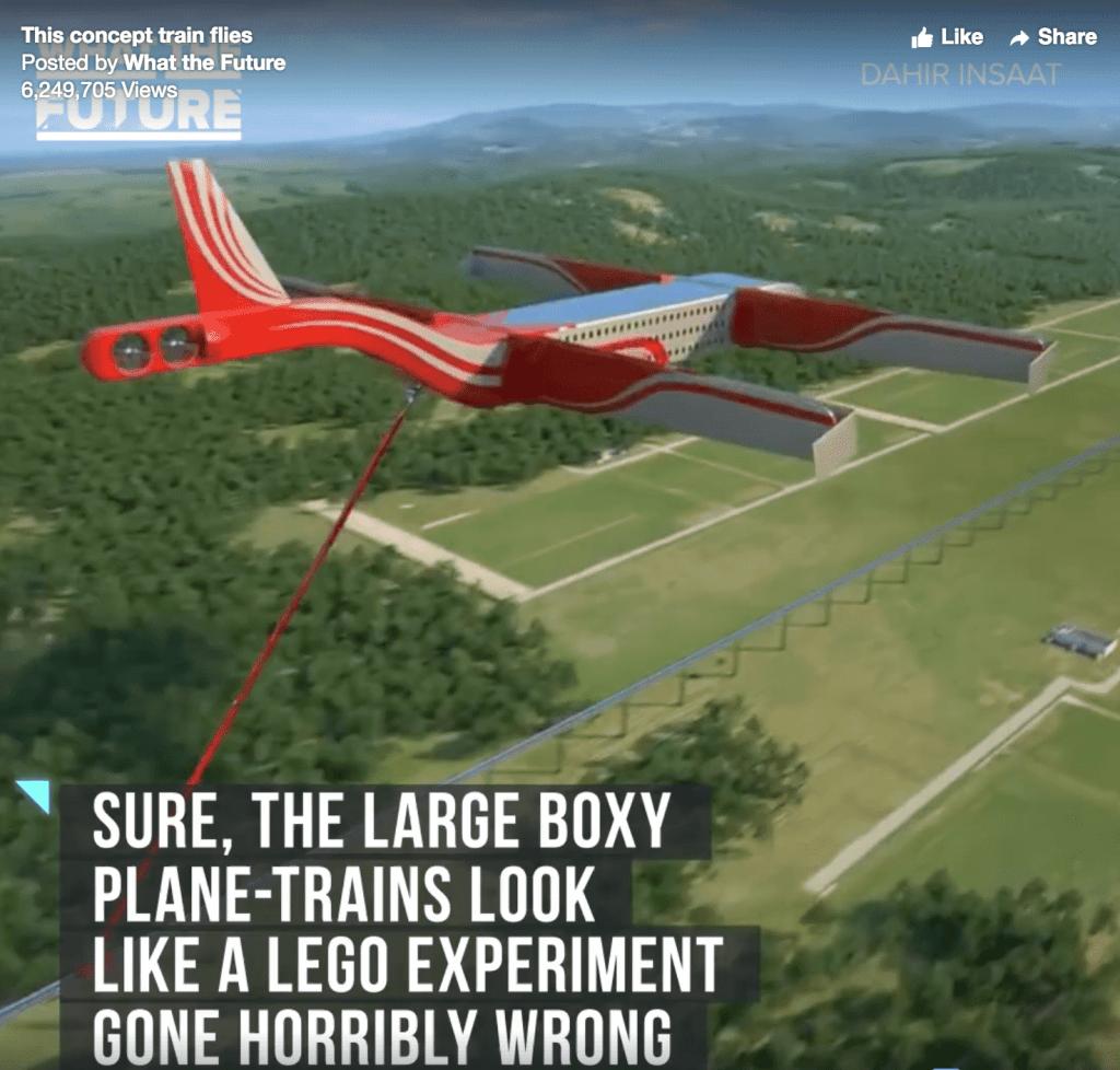 image of hybrid train plane