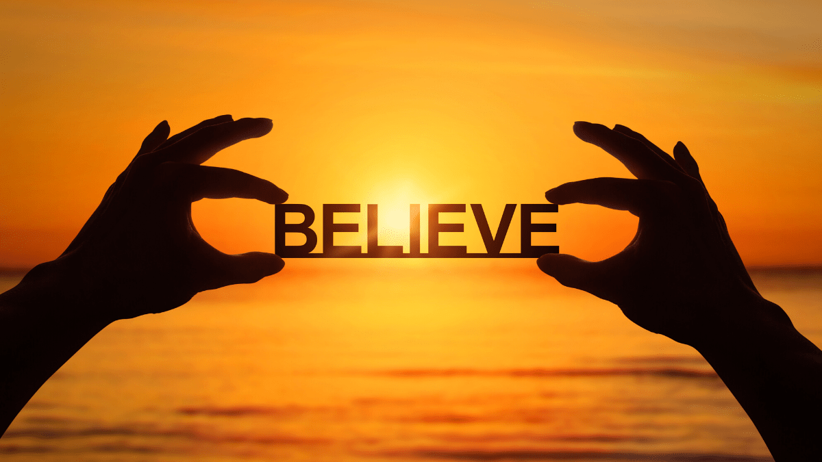 The courage to believe