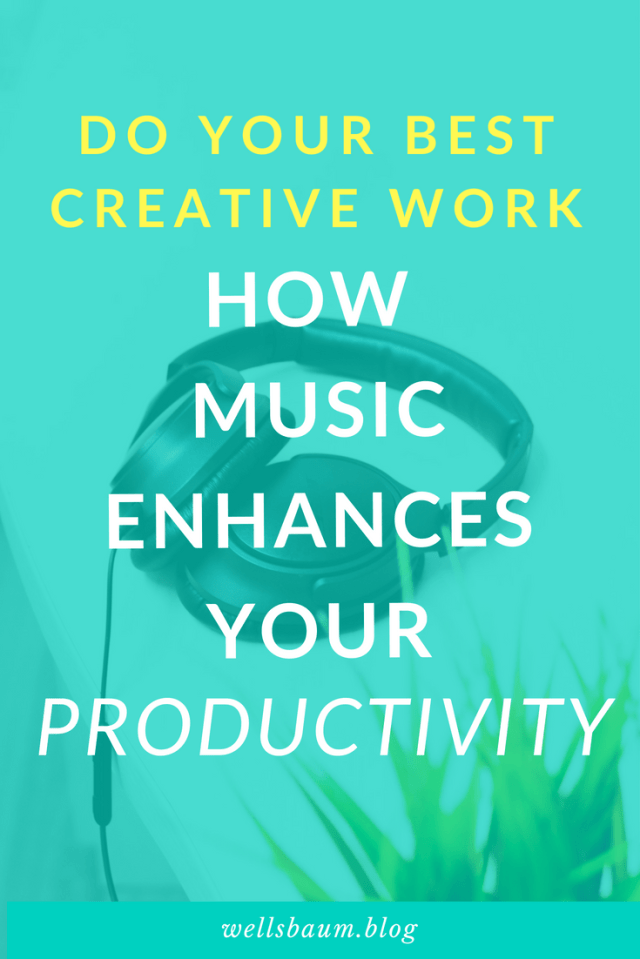 One of my favorite ways of increasing productivity at work or at home when I'm working on my blog or making art is to listen to music. But not just any music. This music is scientifically proven to increase your focus and output. Check it out!