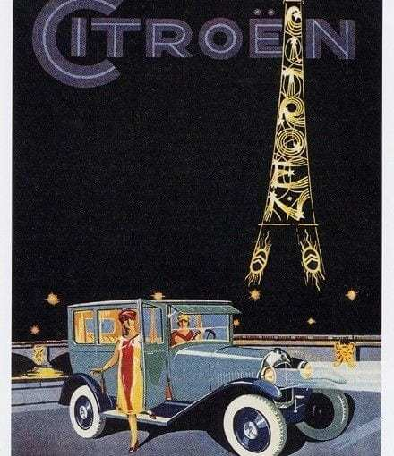 Advertising on the Eiffel Tower (1925 - 1934)