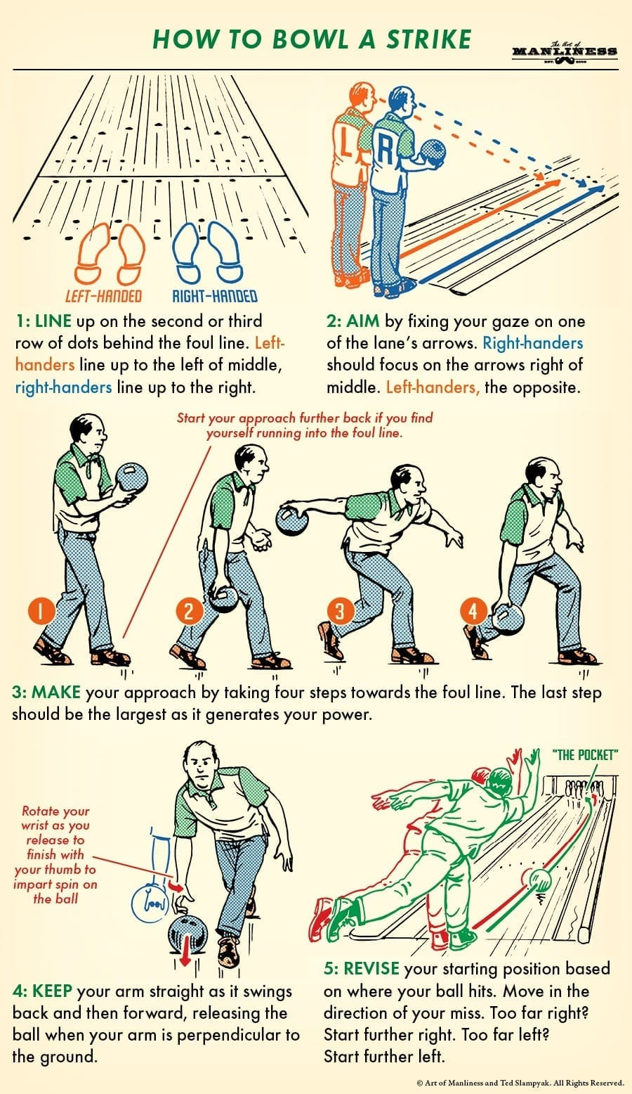 How to bowl a strike 🎳