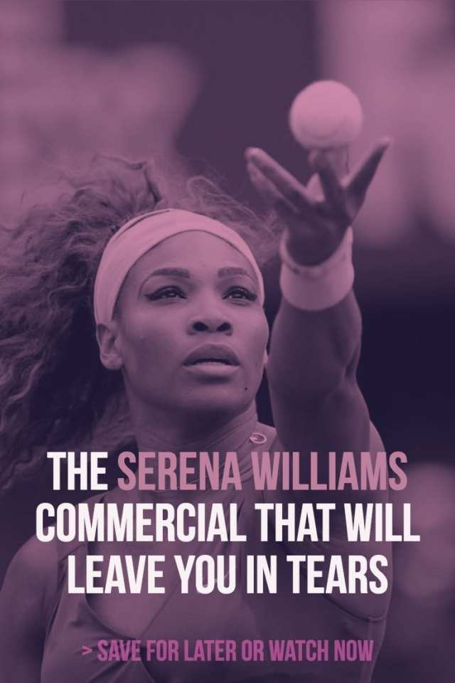 Nike's new advertisement reveals home-video of a nine-year-old Serena Williams practicing tennis with her father.