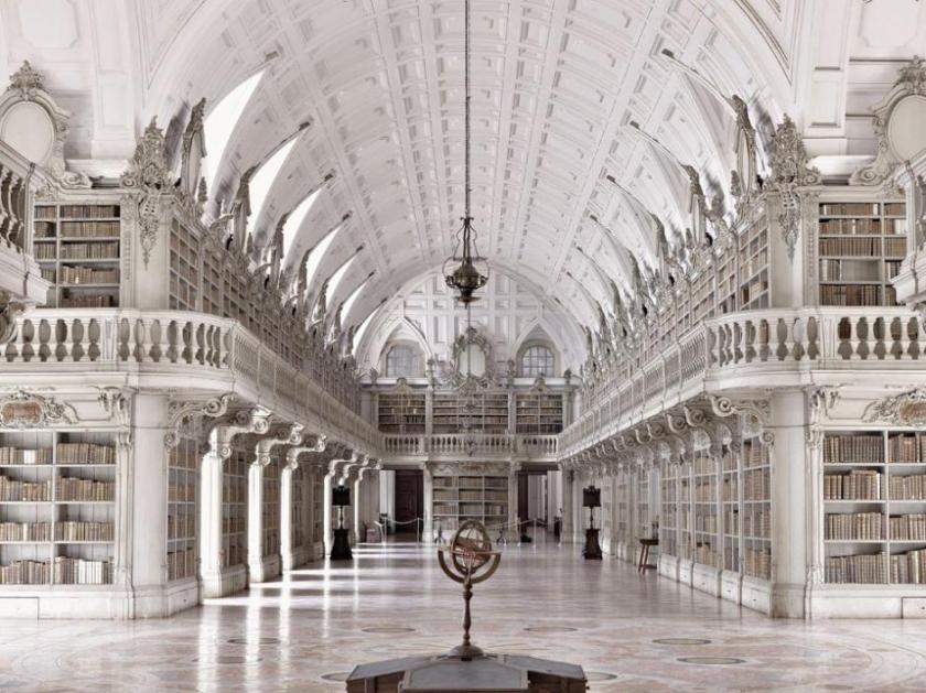 The Mafra Palace library, Mafra, Portugal