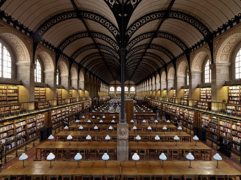 Sainte-Geneviève library, Paris, France