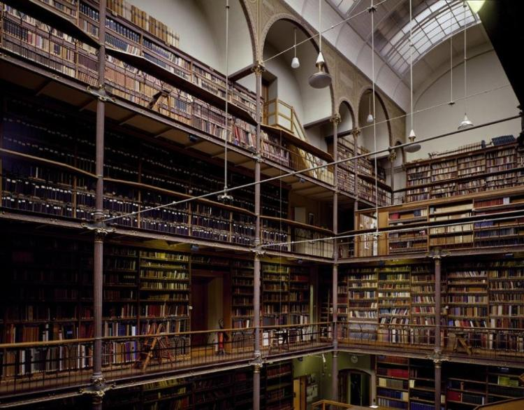 Rijksmuseum research library, Amsterdam, The Netherlands