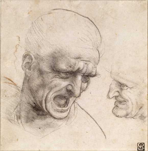 Leonardo's strange faces