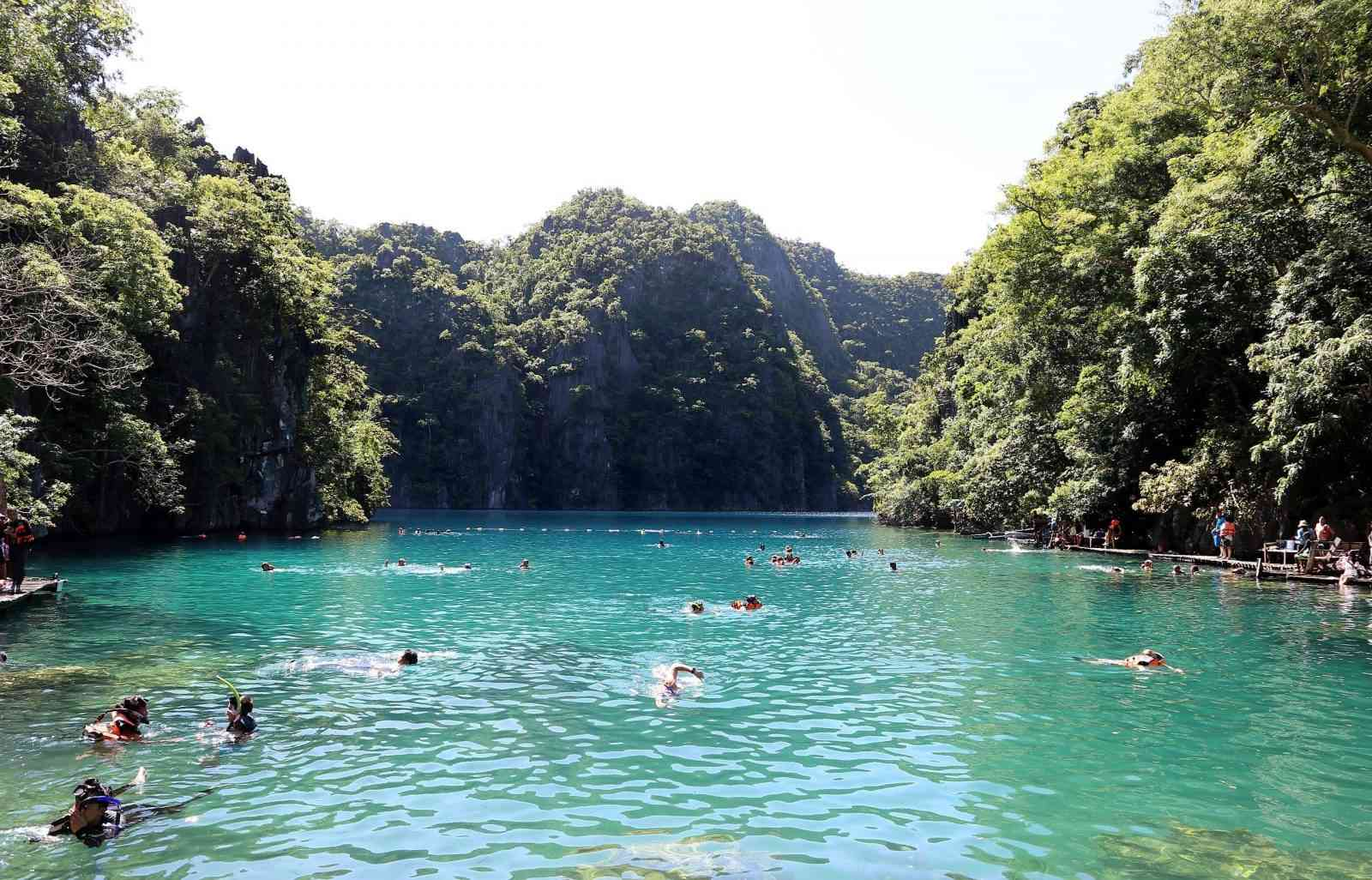 An image of Coron Palawan, the most beautiful island in the world