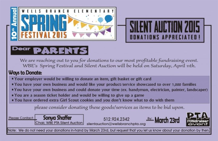 F8 - Silent Auction