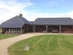 Front elevation of the Stable Block