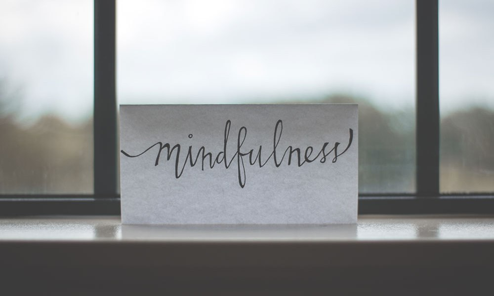 Sometimes, we just need to slow down in life and practice mindfulness.