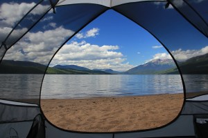 Camping, Wells Gray Park Clearwater
