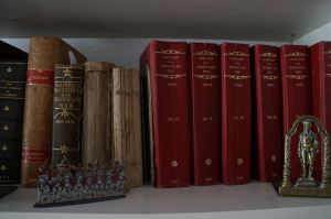 Books in the society library