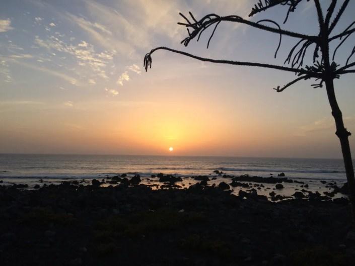 Sonnenuntergang Lanzarote, wo ist der Schönste