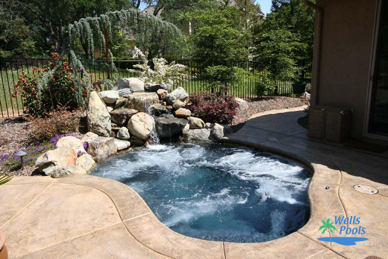 Small Pool Construction, Sacramento, Folsom, El Dorado