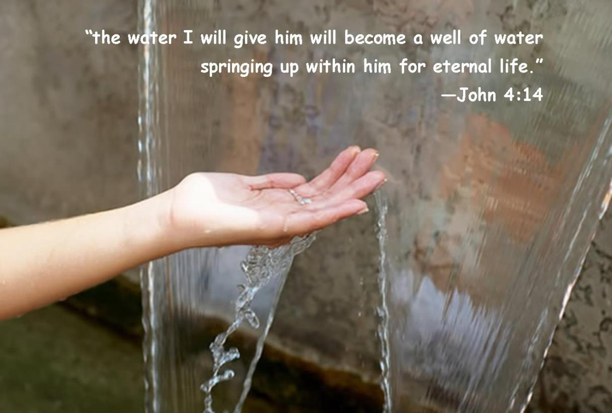 wellspring john 4-14