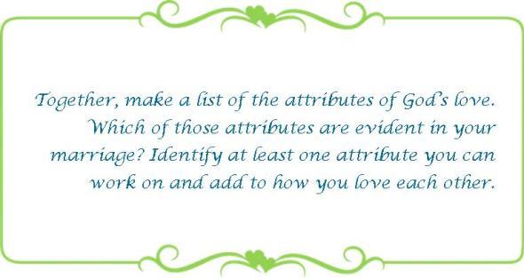 010 attributes of Gods love