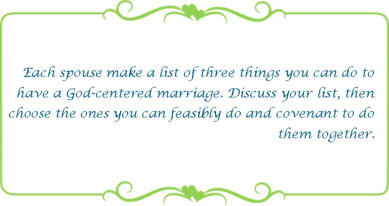 027 God centered marriage