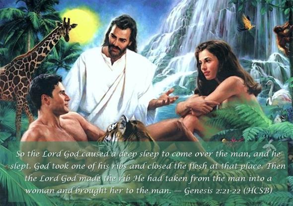 Genesis 2 21-22