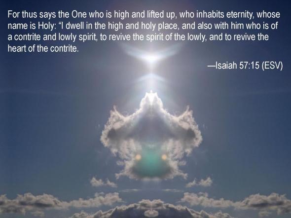Isaiah 57 15
