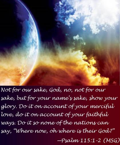 Psalm 115 1-2