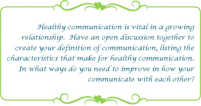 074 healthy communication
