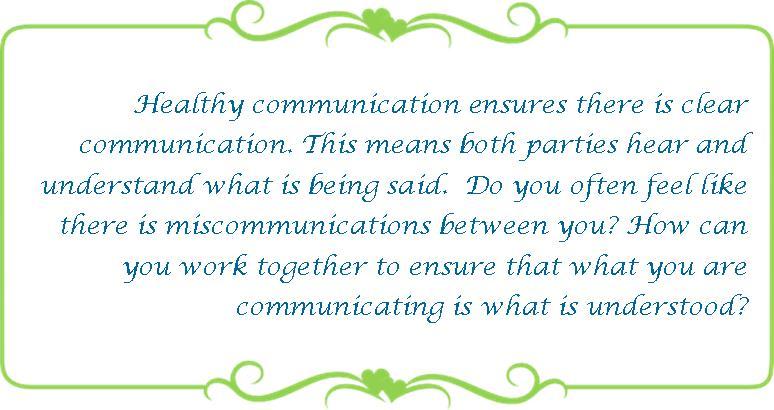 078 healthy communication
