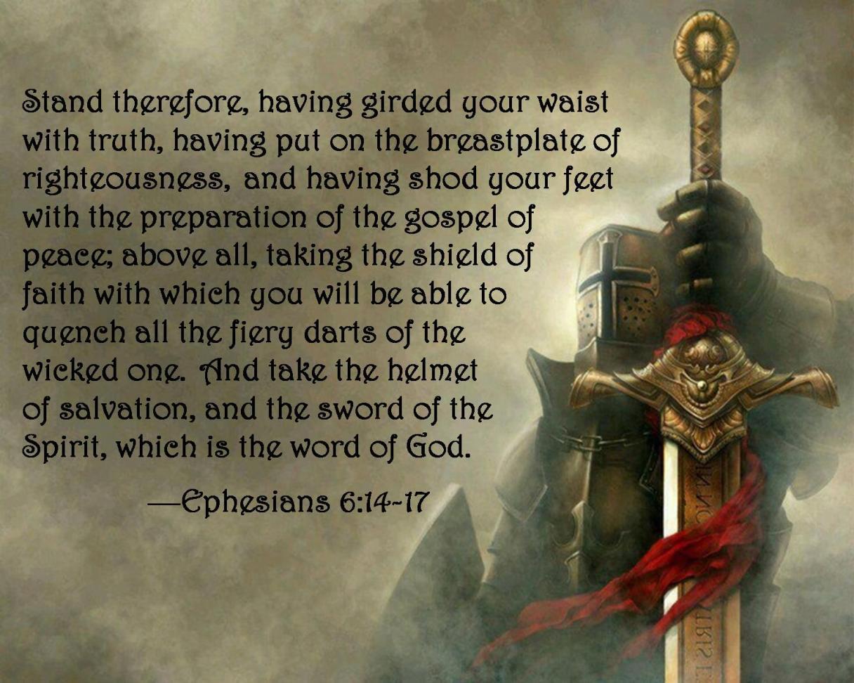 ephesians 6 14-17