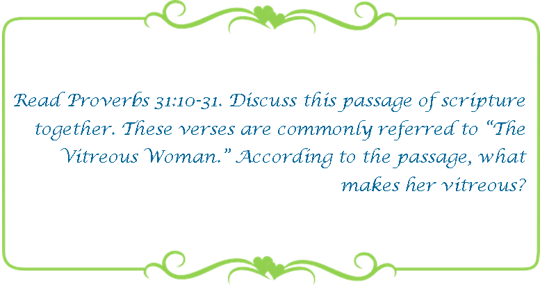 135 Virtuous woman