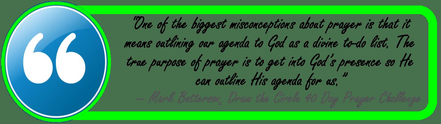 batterson-draw the circle-true purpose of prayer