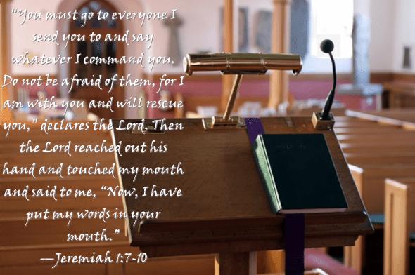 Jeremiah 1 7-10